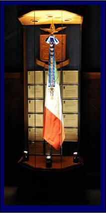 La bandiera dell 39 aeronautica militare italiana for Bandiera di guerra italiana